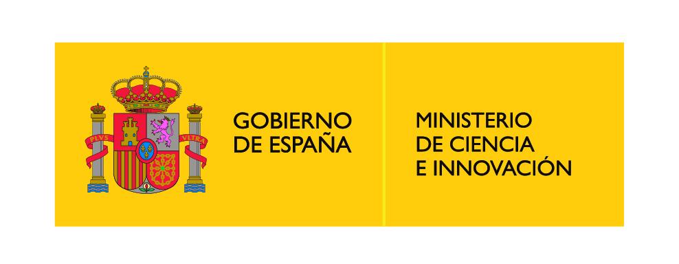 logotipo del ministerio de ciencia e innovacion Gobierno de España