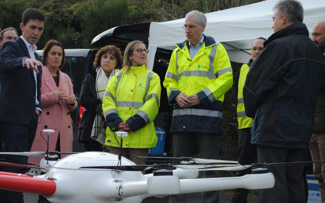 La Xunta reforzará el control de la calidad de las masas de agua en Galicia con la utilización de vehículos no tripulados que permitirán mejorar la preservación de los ecosistemas fluviales y costeros