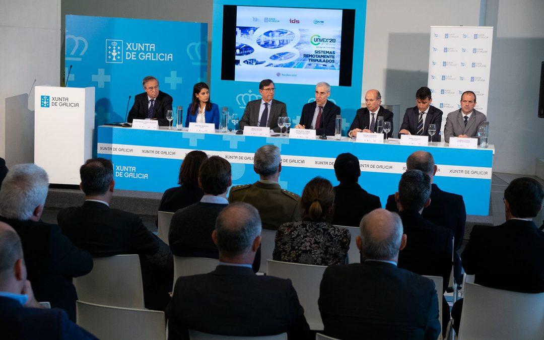 El Congreso Internacional UNVEX contribuirá a visibilizar las posibilidades que el Polo Aeroespacial de Galicia ofrece al sector en España