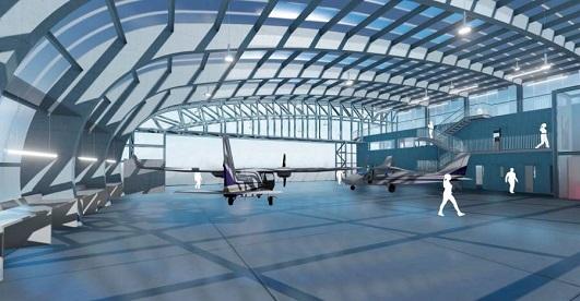 La creación del Centro Mixto de Investigación Aerotransportada INTA-XUNTA, situado en el aeródromo
