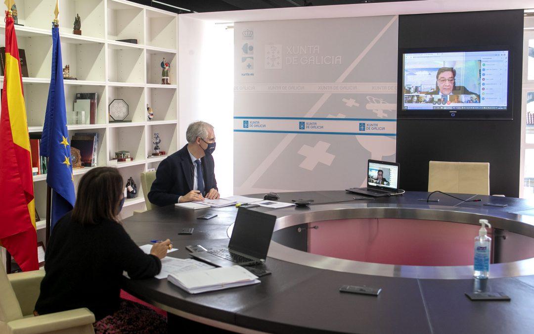 Conde afirma que o principal obxectivo do Polo Aeroespacial de Galicia 2025 é crear tecido industrial ao redor deste sector