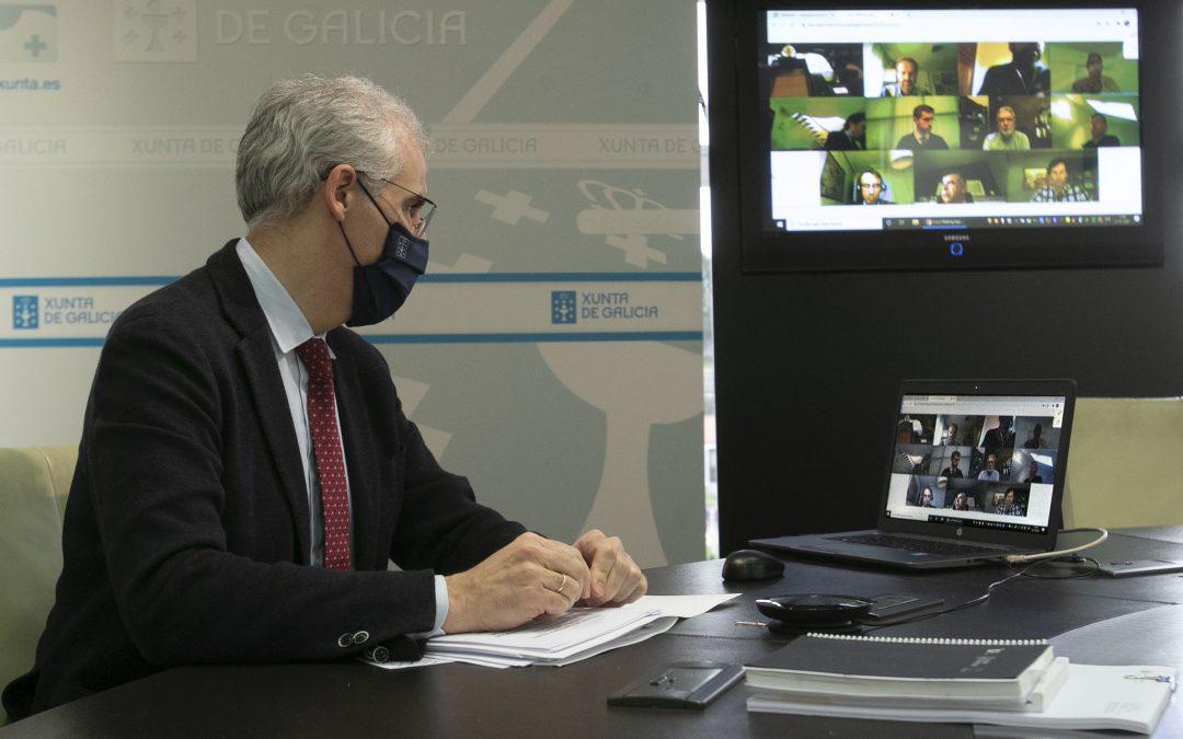 La Xunta confía en que los Fondos Europeos Next Generation permitan afianzar los grandes proyectos del Polo Aeroespacial de Galicia para los próximos cinco años