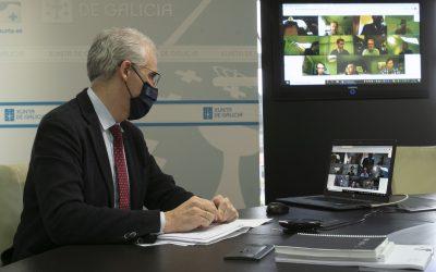 A Xunta confía en que os fondos europeos Next Generation permitan afianzar os grandes proxectos do Polo Aeroespacial de Galicia para os vindeiros cinco anos