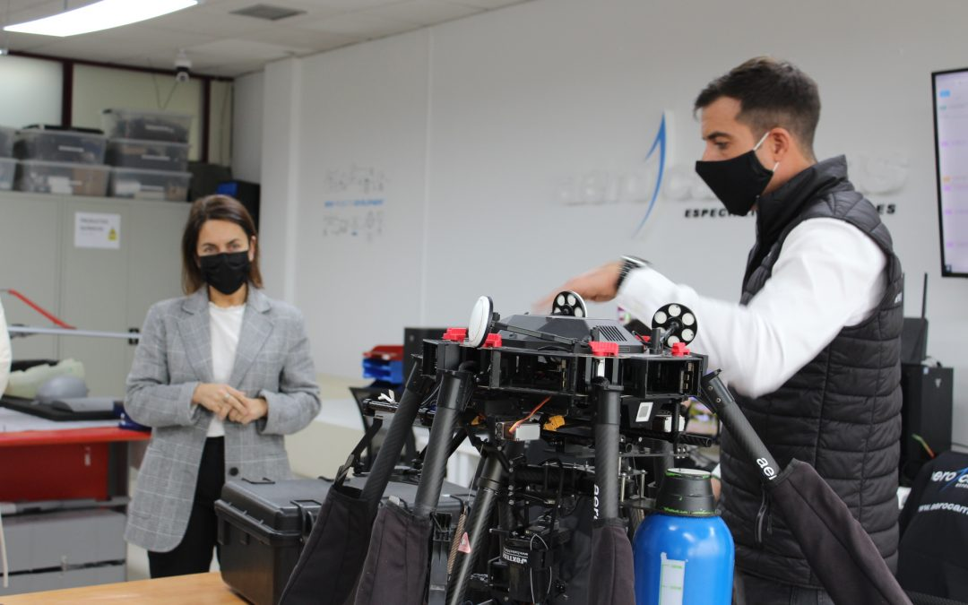 La Xunta destaca el potencial innovador de las pymes gallegas del sector aeroespacial