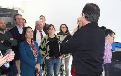 Conde anuncia un investimento de cinco millóns de euros para dotar o Polo Aeroespacial de Galicia dun simulador de xestión do tráfico aéreo