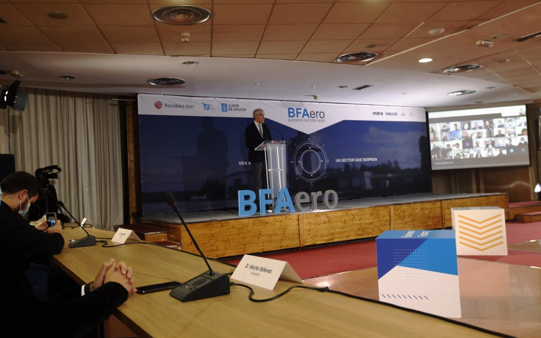 La Xunta confía en que las siete nuevas iniciativas seleccionadas para participar en la BFAero consoliden esta aceleradora como el núcleo de la industria aeroespacial en Galicia