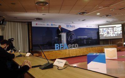 A Xunta confía en que as sete novas iniciativas seleccionadas para participar na BFAero consoliden esta aceleradora coma o núcleo da industria aeroespacial en Galicia