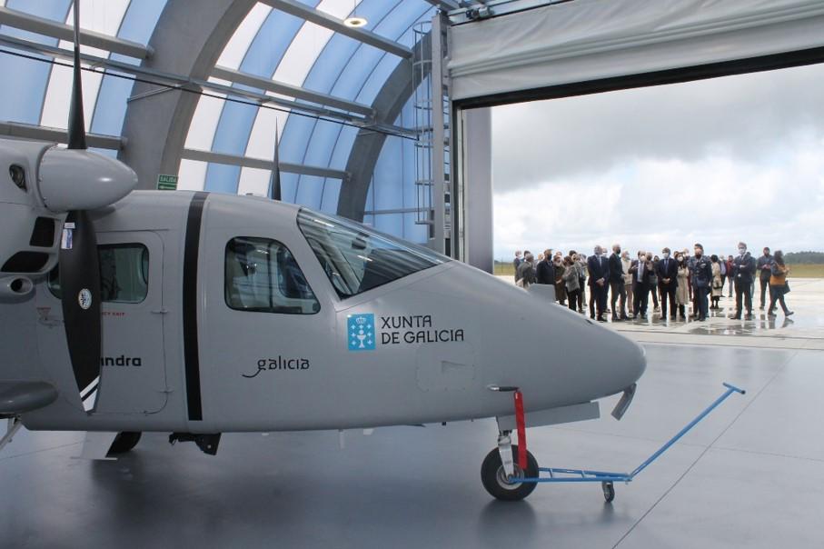 Galicia avanza co sector a nivel estatal as principais liñas do Polo Aeroespacial de Galicia para o período 2021-2025