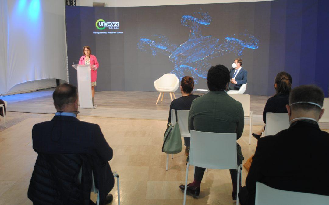 La Xunta destaca el potencial de 'Unvex 2021' como escaparate para mostrar las capacidades de la industria aeroespacial gallega