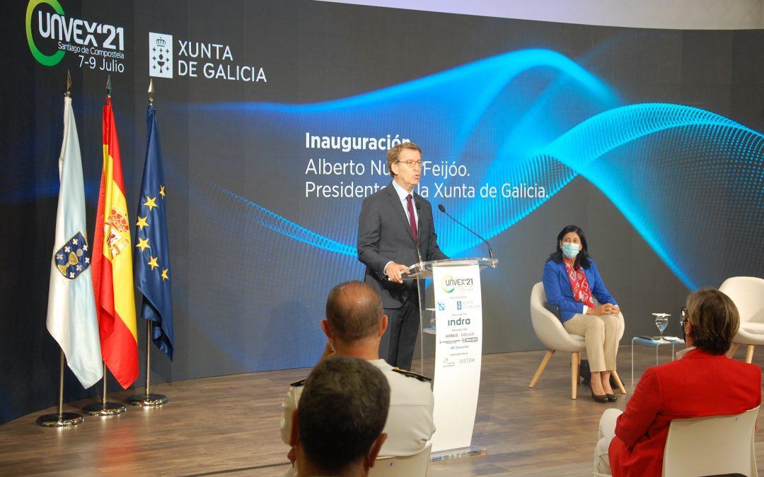 Feijóo avanza un nuevo impulso al Polo Aeroespacial de Galicia con el inicio de los trámites para seleccionar nuevos socios estratégicos y tecnológicos para los próximos cinco años