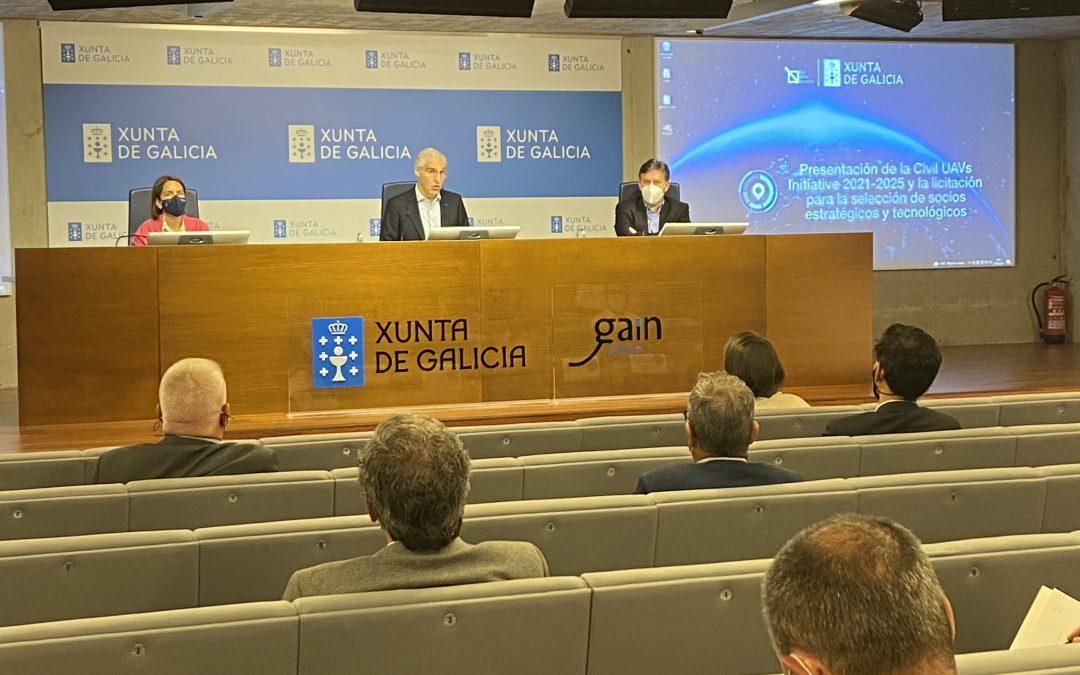 A Xunta pon en marcha a licitación para seleccionar entre catro e oito socios estratéxicos e tecnolóxicos para o Polo Aeroespacial de Galicia