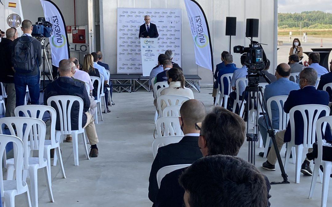 La Xunta incluye, en el marco del Polo Aeroespacial 2025, ayudas para la internacionalización de las empresas gallegas vinculadas a este sector industrial