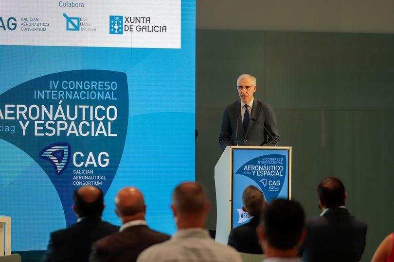 Conde avanza que dez candidaturas optan a ser socios estratéxicos da Xunta no Polo Aeroespacial de Galicia durante os vindeiros cinco anos